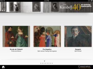 kimbell-40th-app-home-page
